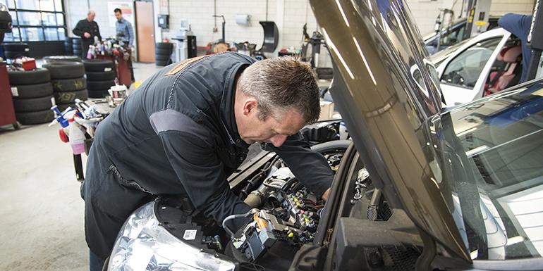 Onderhoud en reparaties Renault