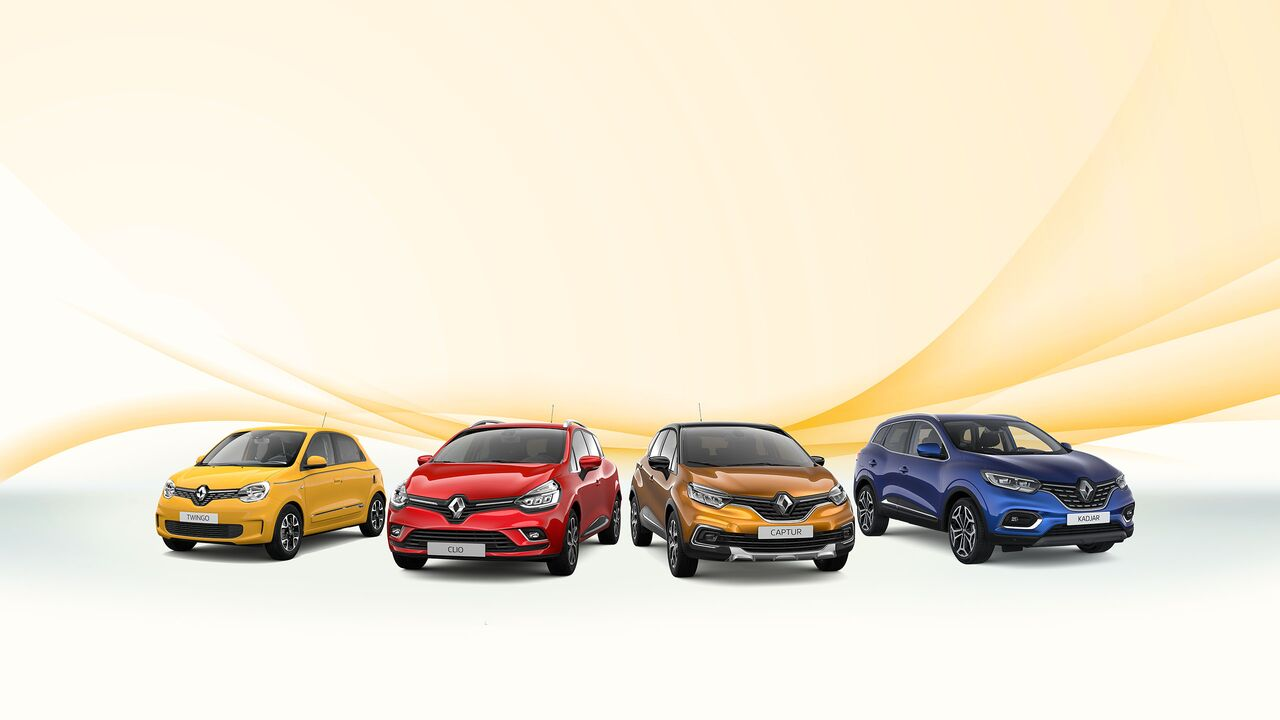 Renault Private Lease Banner
